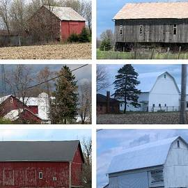 R A W M   -       Ohio Barn Collage