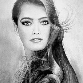 Alan Armstrong - # 1 Brooke Sheilds portrait