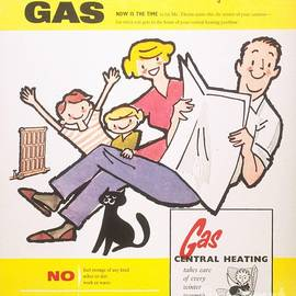 The Advertising Archives -  1950s  Uk Gas