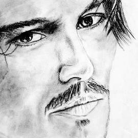 Alan Armstrong - # 2 Johnny Depp portrait.