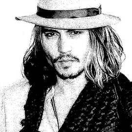Alan Armstrong - # 3 Johnny Depp portrait