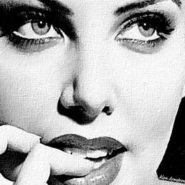 Alan Armstrong - # 9 Charlize Theron portrait