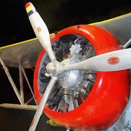 Susan Savad -  Airplane - Grumman F3F-2 Biplane
