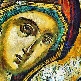 Daliana Pacuraru -  Blessed Virgin Mary - painting