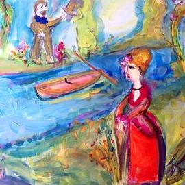 Judith Desrosiers -  By the River in May
