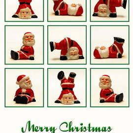 Karin Stein -  Christmas card funny Santa