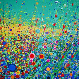 Maja Sokolowska -  Colorful flowerscape