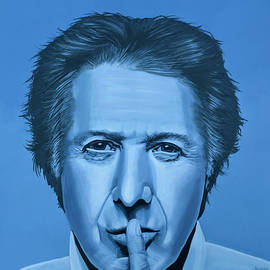 Paul Meijering -  Dustin Hoffman Painting