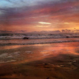 Joann Vitali -  Florida Sunrise after a Storm - New Smyrna Beach FL