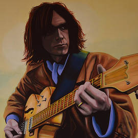 Paul Meijering -  Neil Young Painting