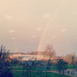 Flick Chalmers - # Rainbow #potofgold # Office View #hope