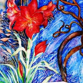 Trudi Doyle -  Red Amaryllis