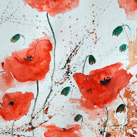 Ismeta Gruenwald -  Red Poppies