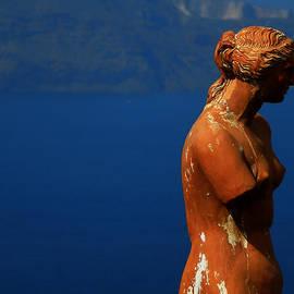 Colette V Hera  Guggenheim  - Afrodite Watching Over Santorini Island Greece