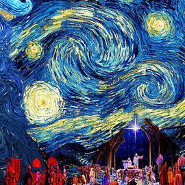 Sylvia Thornton -  Starry Night in Bethlehem
