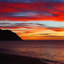 Robert  McKinstry -  Sunrise on the Sea of Cortez