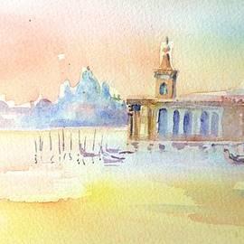 Trudi Doyle -  Sunset  Venice Santa Maria  de la Salute