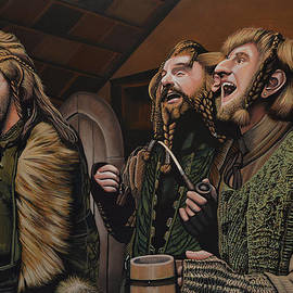 Paul Meijering -  The Hobbit and the Dwarves