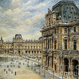 Joey Agbayani -  The Louvre Museum