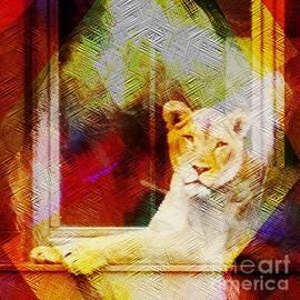 Kathleen Struckle - Lion