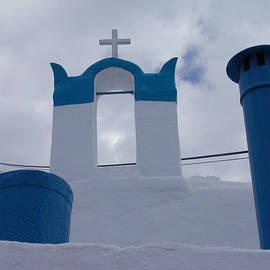 Colette V Hera  Guggenheim  -  Top of Santorini Island