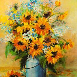 REDlightIMAGE - Sunflowers bouquet-1