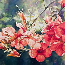REDlightIMAGE - Red spring flowers