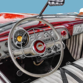 Frank J Benz - 1951 Ford Interior Driver Controls
