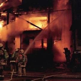 Mike Davis - Micks Pix Photos - 071506-4 Cleveland Firefighters On The Job