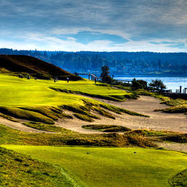 David Patterson - #16 at Chambers Bay Golf Course - Location of the 2015 U.S. Open Tournament