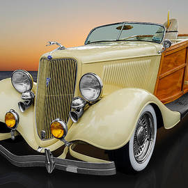 Frank J Benz - 1934 Ford Woody