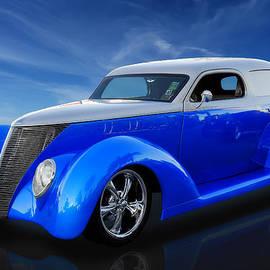 Frank J Benz - 1937 Ford Delivery Sedan Wagon