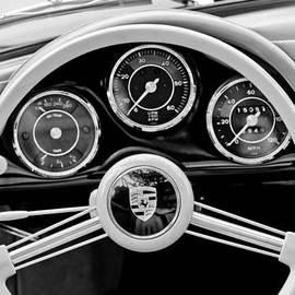 Jill Reger - 1956 Porsche 356 A Speedster Steering Wheel Emblem