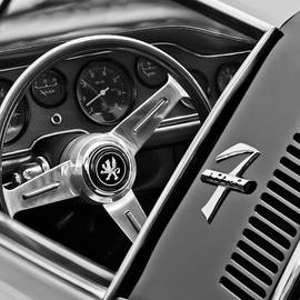 Jill Reger - 1971 ISO Grifo Can Am Steering Wheel Emblem