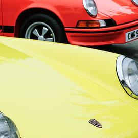 Jill Reger - 1973 Porsche 911 Carrera RS Emblem