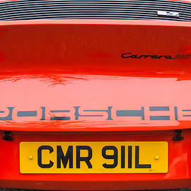 Jill Reger - 1973 Porsche 911 Carrera RS Lightweight Rear Emblem