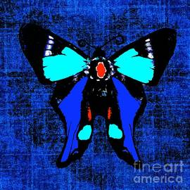 Saundra Myles - A Butterfly So Blue