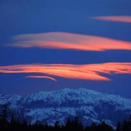Karen Horn - Alaska sunset