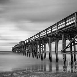 Dawna  Moore Photography - Amelia Island Fishing Pier Fernandina Beach Florida