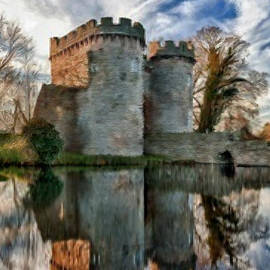 Bruce Nutting - Ancient Whittington Castle in Shropshire England