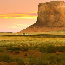 Randall Branham - Approaching Monument Valley