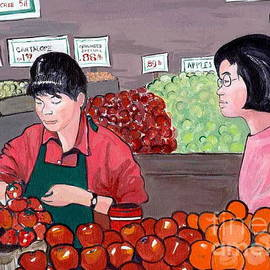 Joyce Gebauer - At the Market