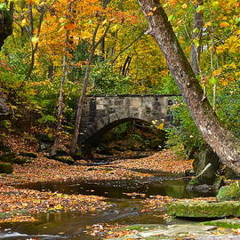 Frozen in Time Fine Art Photography - Autumn Bridge