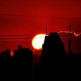 William Bartholomew - Baltimore Skyline Silhouette