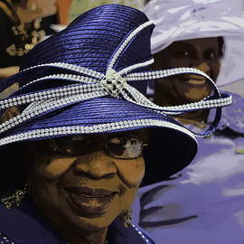 Kathy Barney - Beautiful Ladies in Purple Hats