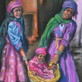 Omar Rahmani - Bedouin Girls