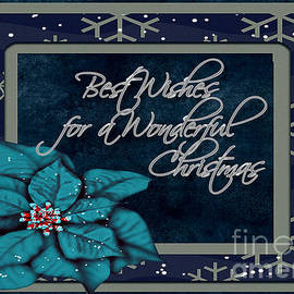 Vickie Emms - Best Wishes for a Wonderful Christmas Card