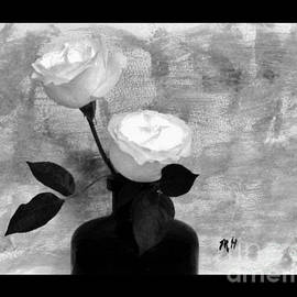 Marsha Heiken - Black and White Rose