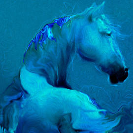 Judith Barath - Blue Horse