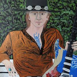 Ken Zabel - Blues in the park with Stevie Ray Vaughan.